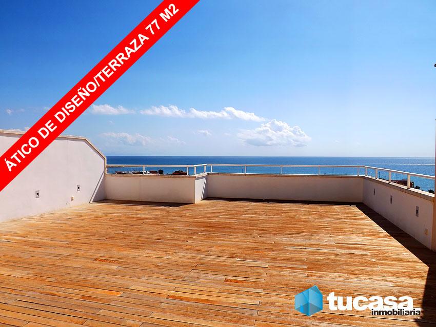 Exclusivo tico de dise o terraza de 77m2 vistas esquina piscina tucasainmobiliaria - Piscina terraza atico ...