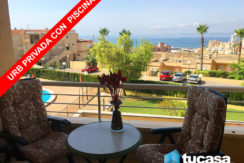 APARTAMENTO CON VISTAS AL MAR, URB.PRIVADA-2HAB-PISCINA-PARKING